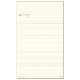 Lined Working Paper