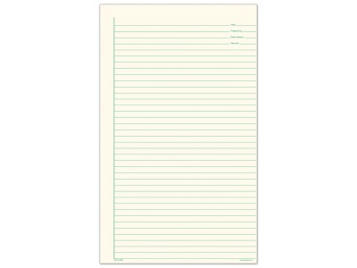 Lined Note Paper (large)