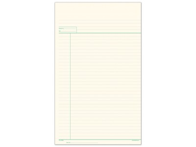 Lined Working Paper  (large)
