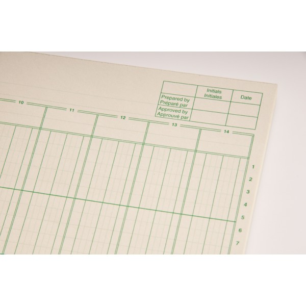 M columnar pad accounting forms supply co ltd for Html table column padding