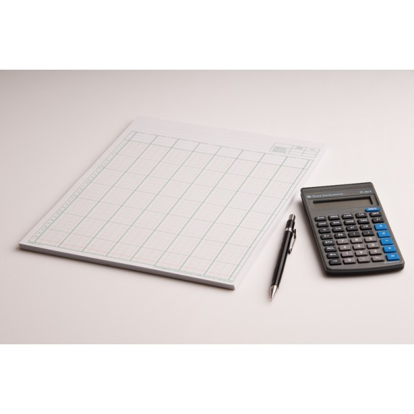 R f 8 11 columnar pad accounting forms supply co ltd for Html table column padding