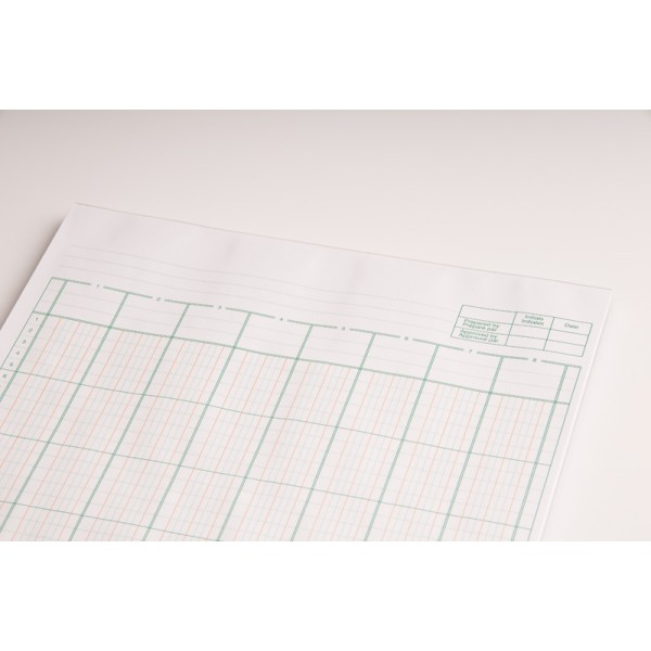 R f 8 columnar pad accounting forms supply co ltd for Html table column padding